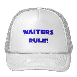 Waiters Rule! Hats