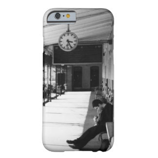 Waiting at the train station barely there iPhone 6 case