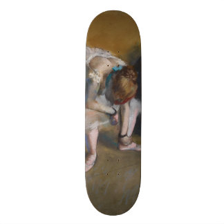 Waiting by Edgar Degas Skateboard Deck
