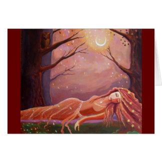 Waiting For A Dream - Fantasy Art Greeting Card