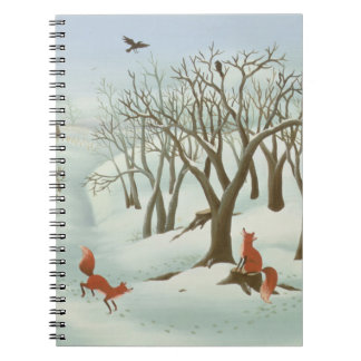 Waiting for Better Times 1980 Spiral Notebook
