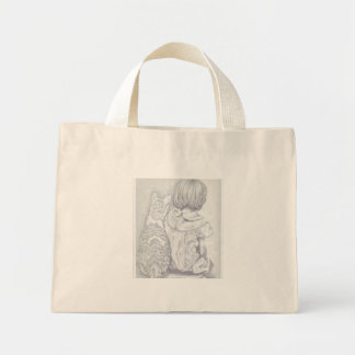 Waiting For Daddy Mini Tote Bag