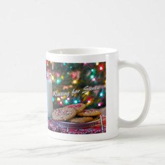 Waiting for Santa Basic White Mug