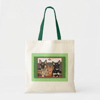 Waiting for Santa Budget Tote Bag