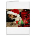 Waiting for Santa- Christmas holiday greeting card