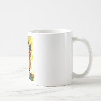 waiting for santa clause basic white mug