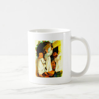 waiting for santa clause coffee mugs