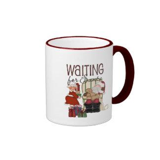 Waiting for Santa Mug