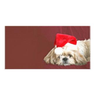 Waiting for Santa Photo Card Template