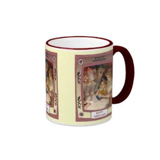 Waiting for santa ringer mug