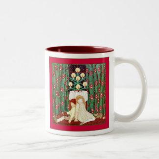 Waiting For Santa ~ Vintage Christmas Coffee Mugs