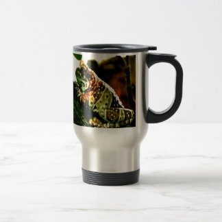 Waiting for you comming back frog stainless steel travel mug