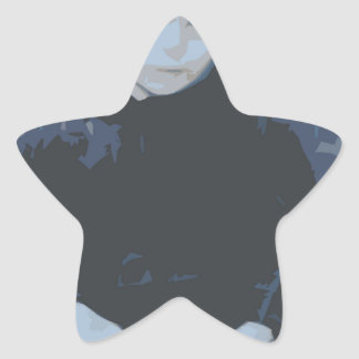 Waiting Gal Star Sticker