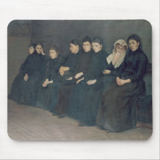 Waiting in the Clinic, 1888 Mouse Pad