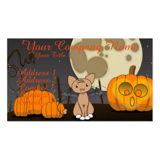 Waiting in the Pumpkin Patch Pack Of Standard Business Cards