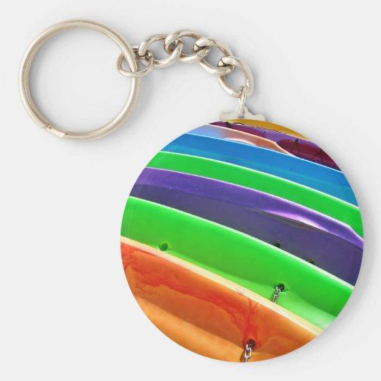 Waiting Kayaks Key Ring