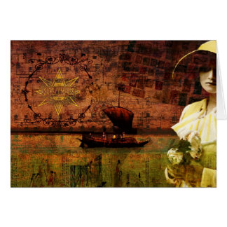 Waiting on Dry Land Greeting Card