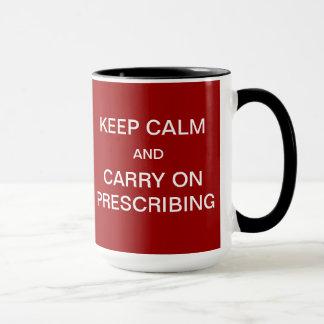 Waiting Room Full / Keep Calm Joke Medical Slogan Mug