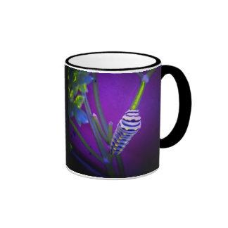 Waiting to be a swallowtail ringer coffee mug