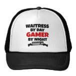 Waitress by Day Gamer by Night Cap