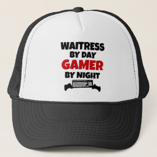 Waitress by Day Gamer by Night Trucker Hat