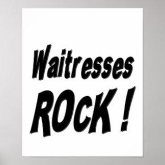 Waitresses Rock! Poster Print