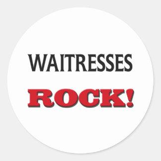 Waitresses Rock Sticker