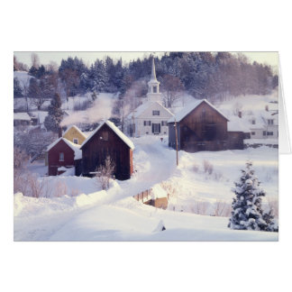 Waits River Vermont Greeting Card