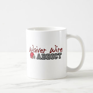 Waiver Wire Addict Coffee Mugs