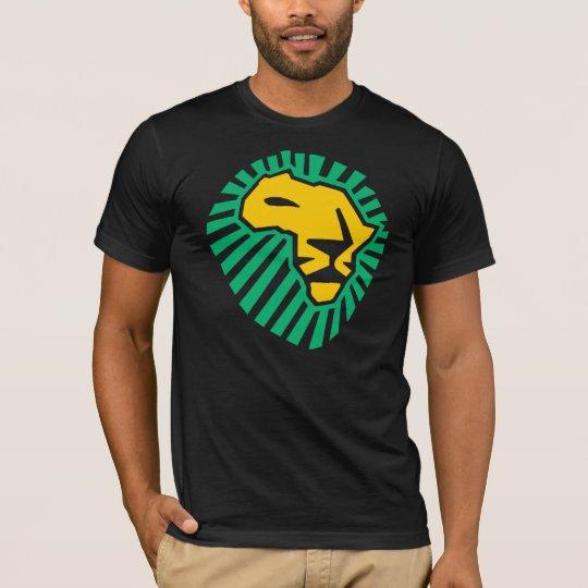 Waka waka Lion Head Africa Green Yellow Men