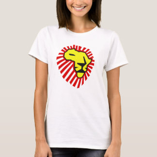 Waka Waka Red Mane Yellow Lion Africa Shirt