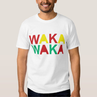 Waka-waka This Time For Africa T-Shirt
