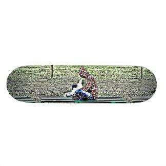 Wake and Vape Vaping E Cig Skateboard