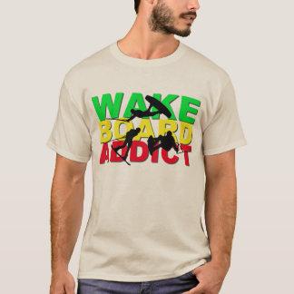 Wake Board Addict T- Shirt