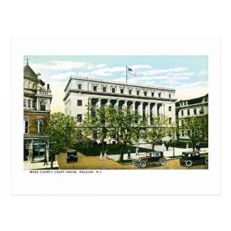 Wake County Courthouse, Raleigh North Carolina Postcard