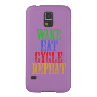 WAKE EAT CYCLE REPEAT GALAXY S5 COVERS
