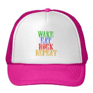 WAKE EAT ROCK REPEAT #3 CAP