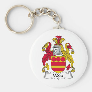 Wake Family Crest Keychains
