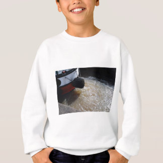 Wake From A Canal Boat Sweatshirt