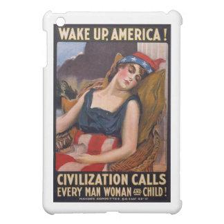Wake Up America Poster iPad Mini Cases