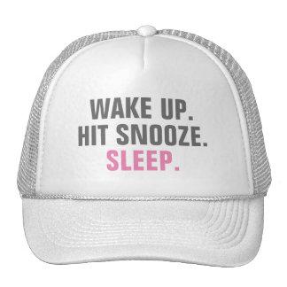 Wake Up and Sleep Cap