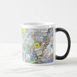 Wake up and start the day with enthusiasm again. magic mug