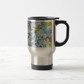 Wake up and start the day with enthusiasm! travel mug