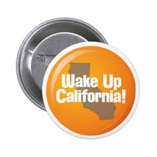Wake Up California button