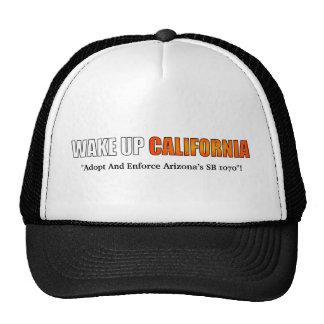 Wake Up California Hat
