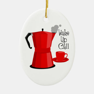 Wake Up Call Christmas Ornament