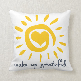 Wake Up Grateful Cushion