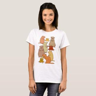 Wake Up Groundhogs! T-Shirt
