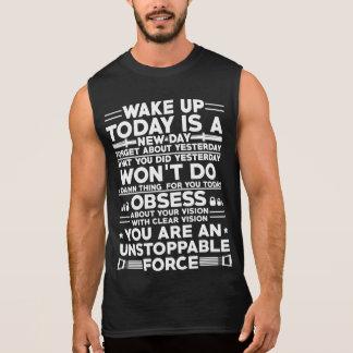 Wake up gym motivation t-shirt