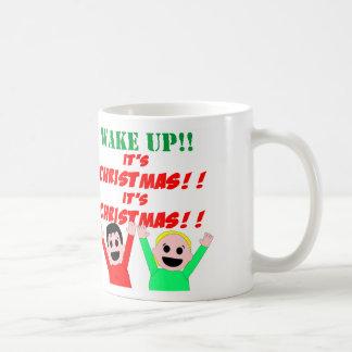 Wake Up! It's Christmas! Mug
